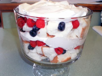 American Angelfood Parfait Recipe