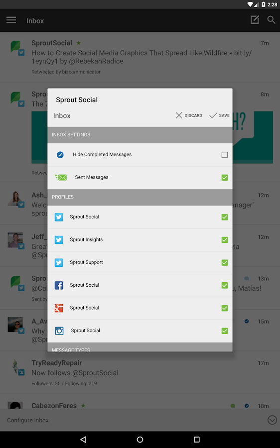 Sprout Social - screenshot