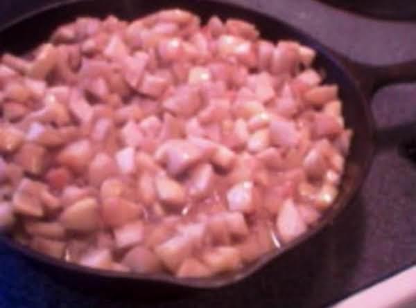 Skillet Cinnamon Apples