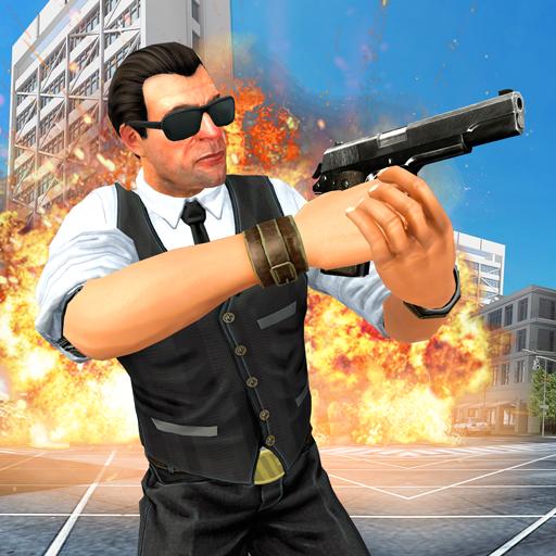 Secret service spy agent mad city rescue game