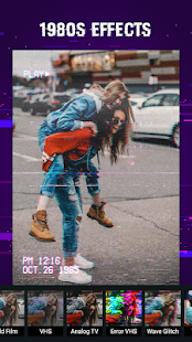 Glitch Photo Effects - VHS Camcorder, Vaporwave for PC