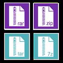 Rar Zip Tar 7Zip File Explorer icon