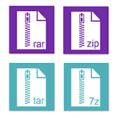 Rar Zip Tar 7Zip File Explorer