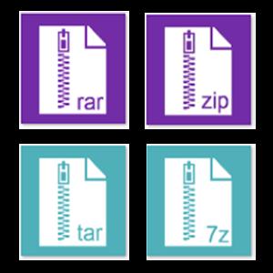 Приложение для файлов rar