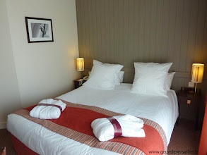 Photo: La chambre du Mercure Deauville Hotel du Yacht Club