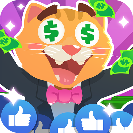 Idle Cat tycoon: Build a live stream empire