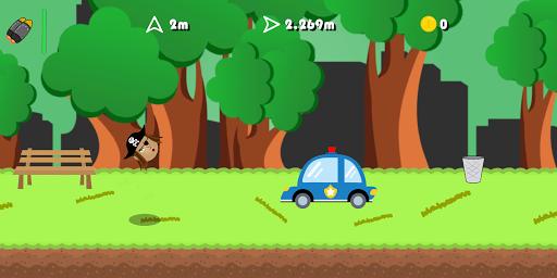 Flingshot - Upgrade the Slingshot, Fling the Ball! apkmind screenshots 3