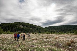 Photo: Hiking up near Sediments Creek