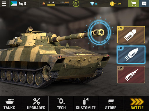 War Machines: Tank Battle - Army & Military Games android2mod screenshots 3