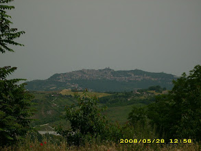 Photo: Blick nach San Marino