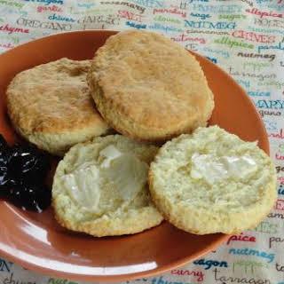 Old Fashion Buttermilk Biscuits.