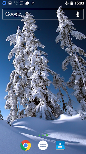 Winter Landscap Live Wallpaper