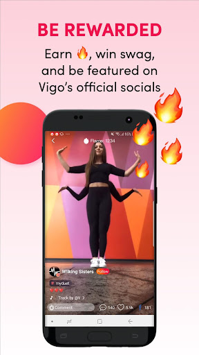 Screenshot for Vigo Video - Funny Short Video in Hong Kong Play Store
