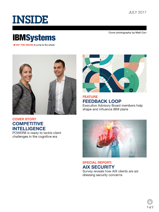 IBM Systems Mag Power edition- screenshot