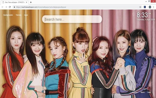 Saturday Kpop wallpapers new tab