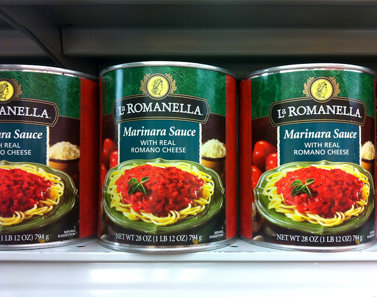 Photo: There are also several pre-made sauces to choose from,