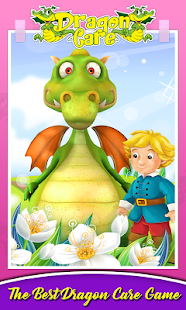 Dragon Pet Caring & Dress Up - náhled