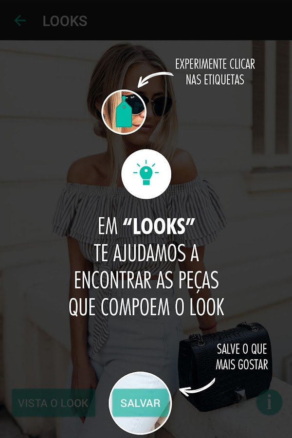 Moda it: captura de tela
