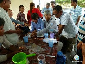Photo: Seedlingpreparations - CFPAR for Kampot province farmers , Lvea Village, Ang Popel commune, Korng Pisey district, Kampong speu province (21 Aug 2014)