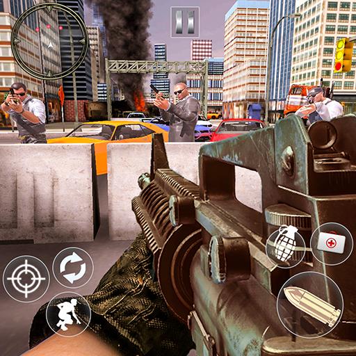Modern Gun Strike Terror Attack