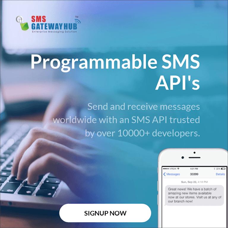 SMSGATEWAYHUB: India's No 1 Bulk SMS Provider - Enabling