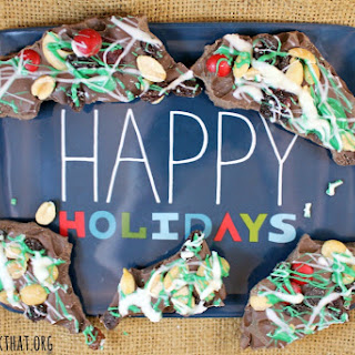 Holiday Nut Crunch Bark #GoNutsForNuts