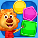 Colors & Shapes - Kids Learn Color and Shape icon