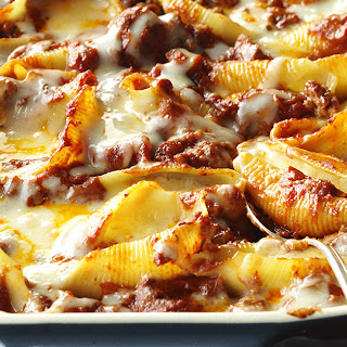Italian Stuffed Shells.