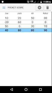 Pocket Score : Keep Game Scores - náhled