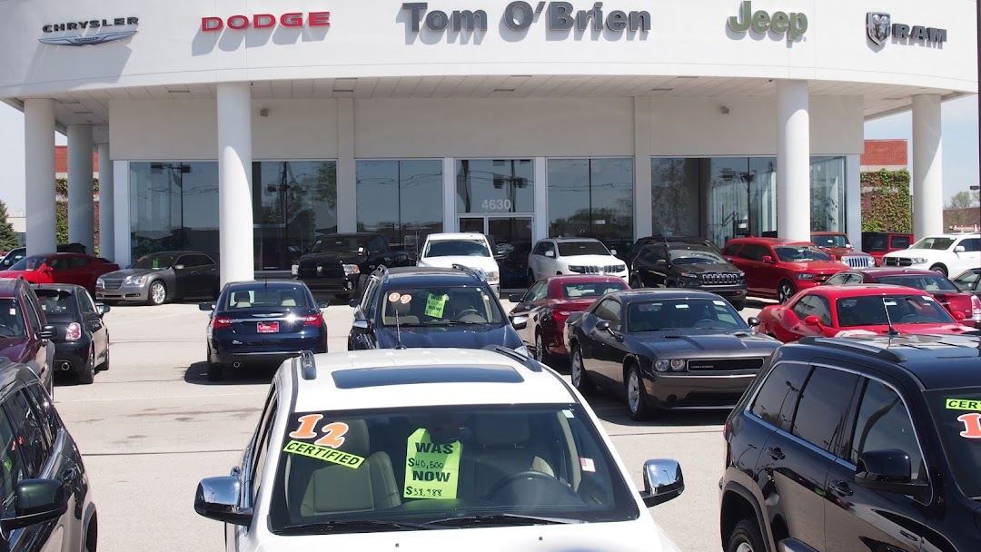 Tom O Brien Jeep >> Tom O Brien Chrysler Jeep Dodge Ram Indianapolis Jeep