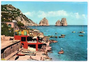 """Photo: Capri - Marina Piccola e """"Faraglioni"""" senza nome dell'editore"""