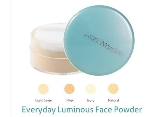Bedak Tabur Wardah Everyday Luminous Face Powder WARDAH bedak tabur wajah wardah matte ringan nyaman digunakan natural