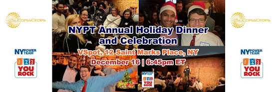 NYPT Annual Holiday Dinner and Celebration at VSpot
