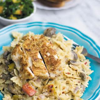 Breaded Chicken Pasta Recipes.