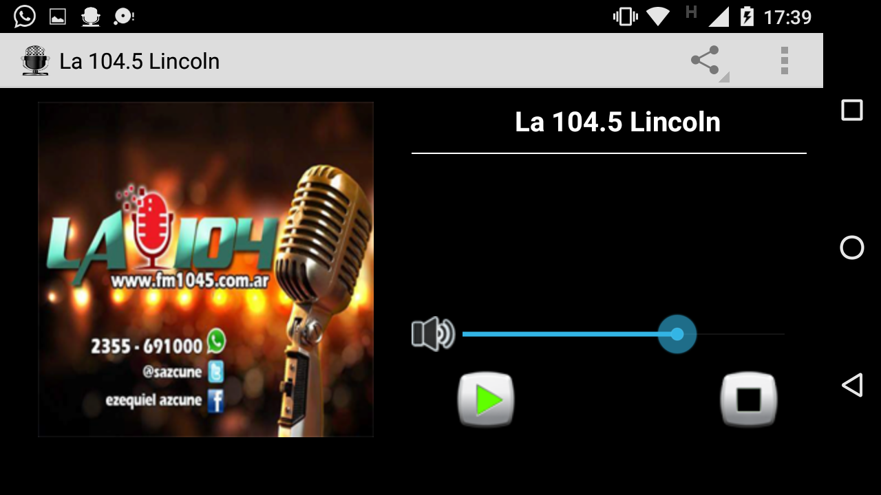 La 104 Lincoln: captura de pantalla