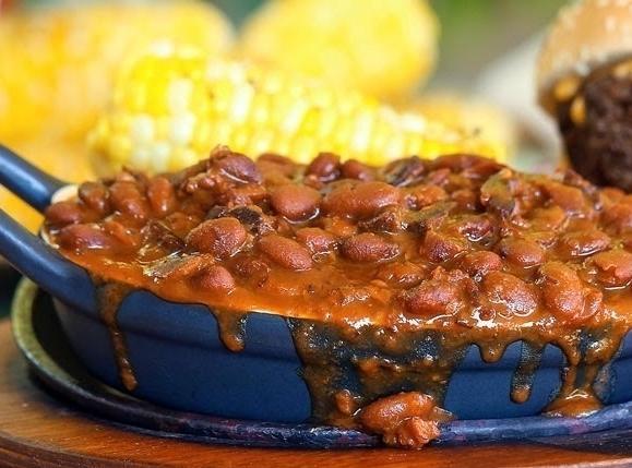 Slow Cooker Smokehouse Bacon Beans Recipe