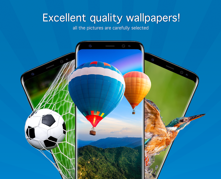 Wallpapers HD & 4K Backgrounds (PRO) v4.6.1 [Paid]