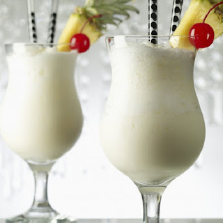 West Indian Colada Cocktail.