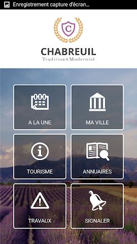 android Mairie de Chabreuil Screenshot 1