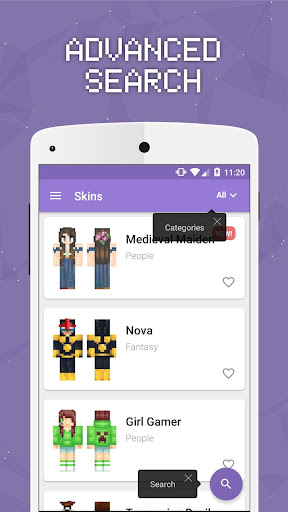 Skins for Minecraft PE 2 screenshot
