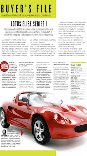 Modern Classics car magazine- screenshot thumbnail