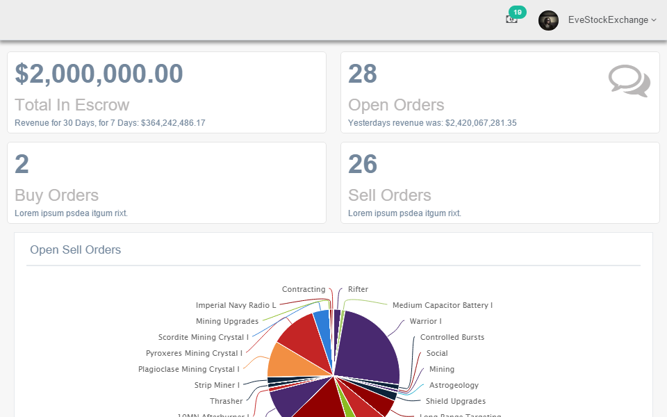 Eve Business Management- screenshot