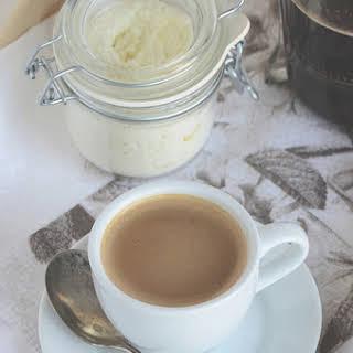 Homemade Vanilla Powdered Coffee Creamer.