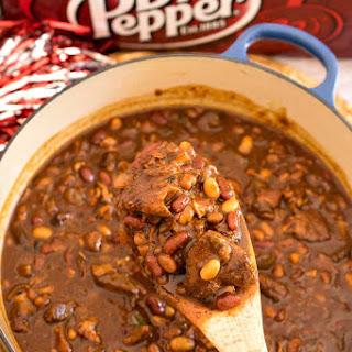 Meat Lover's Dr Pepper Baked Beans.