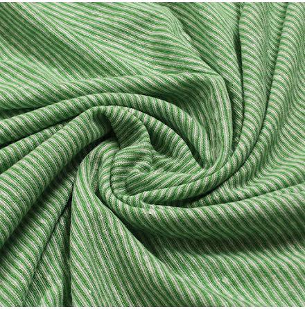 Rand Linnetrikå -  grön/vit