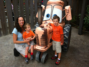 Photo: Family and Baby Tractor