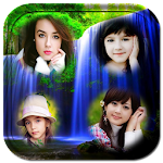 Waterfall photo collage frames Apk