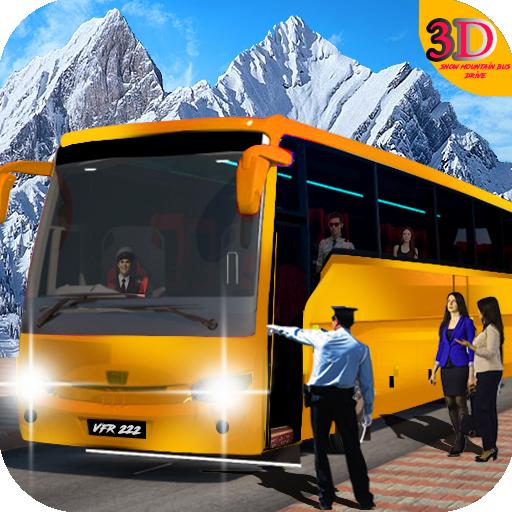 Snow Mountain Bus Drive: Offroad Coach Simulator