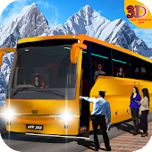 Snow Mountain Bus Drive: Offroad Coach Simulator