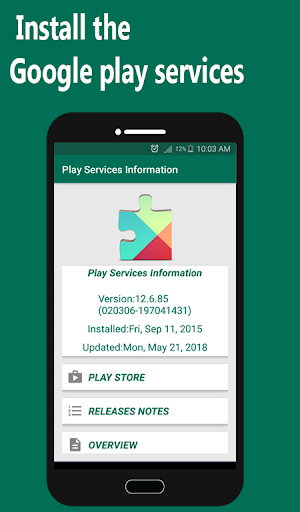 Help Play Store & Google Play Services Error 1.1.3 screenshots 1